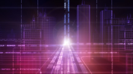 virtual city