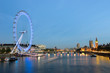 London City Of Westminster And Thames River At The Dusk - 61498677