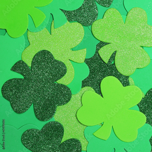 St. Patrick's Day. Shamrock background