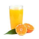 Juice from tangerines