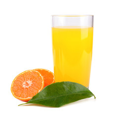 Juice from tangerine