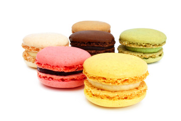 French pastries - Macarons