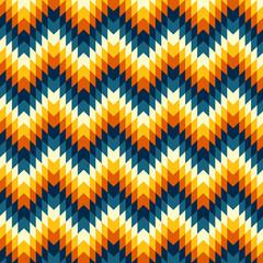 Aztec pattern. Vector illustration