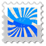Abstract grunge stamp