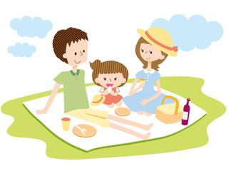 家族 ピクニック ランチ