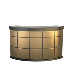 golden reception counter