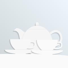 paper tea