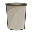 bucket isolated illustration