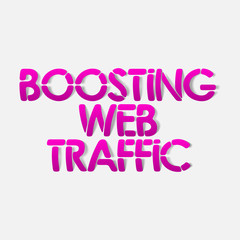 realistic design element: boosting web traffic