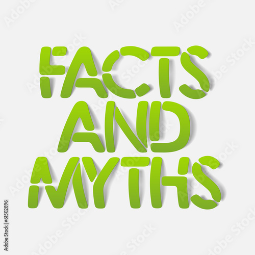 realistic design element: facts and myths