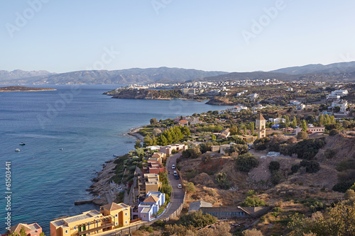 Greece, Crete. Town of Aghios Nikolaos