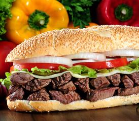 Meet sandwich