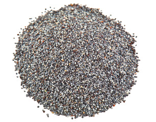heap of poppy seed