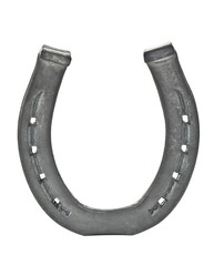 horseshoe on white