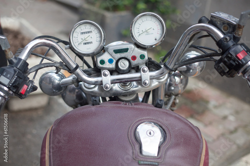 retro motorscycle gauges