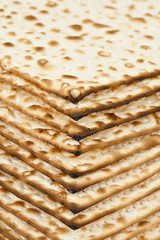 unleavened bread texrure