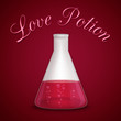 Love potion background