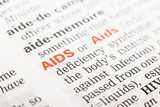 Aids Word Definition In Dictionary Close Up
