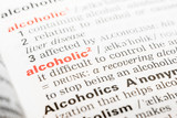 Alcoholic Word Definition In Dictionary Close Up
