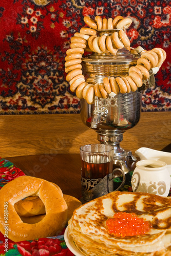 Pancake Day covered table