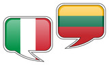 Italian-Lithuanian Conversation