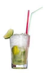 Ice cold lemonade mojito