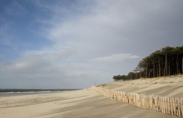 érosion dunaire, barrière de protection, dune