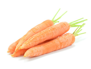Isolated Carrots