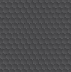 Vector hexagonal darl pattern texture