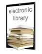 a large number of e-books