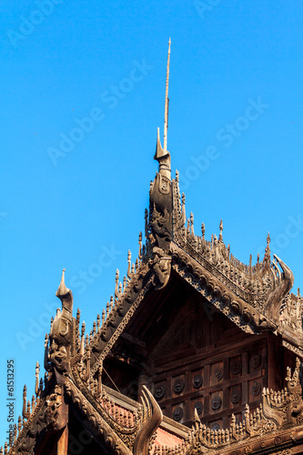 wood carving Myanmar