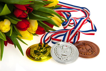 Gold, silver and bronze for the Dutch
