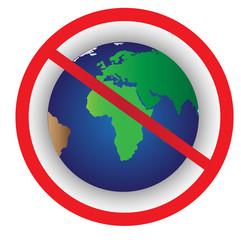 Earth Ban Symbol