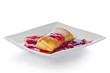 Blintz with Berry Sauce