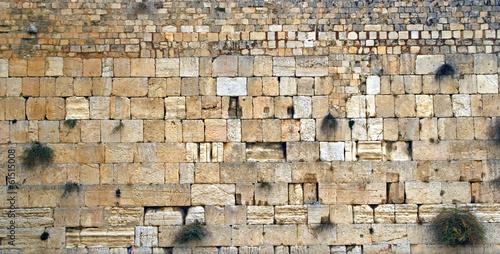 Fotobehang Midden Oosten Western Wall, Jerusalem, Israel