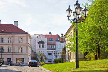 Brno. Street in the old town