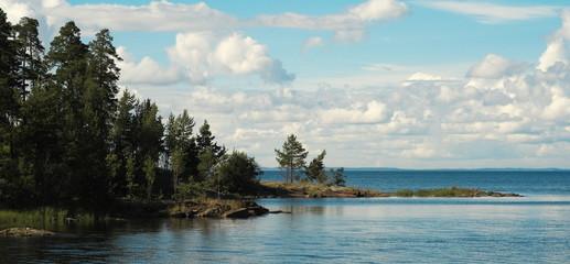 Остров Валаам. Берег Ладожского озера