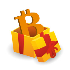 Present with bitcoin