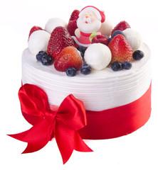 cake, Christmas ice cream cake