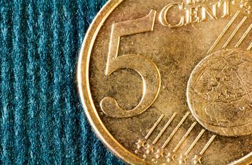 cinque centesimi di euro
