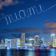 Miami in the sky