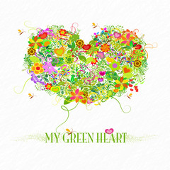 My green heart