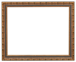 classic style picture frame with cut out canvas