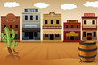 Old western town - 61521292