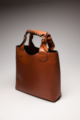 brown womans bag