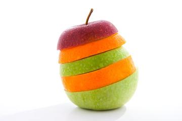 Apfel Obst Mix