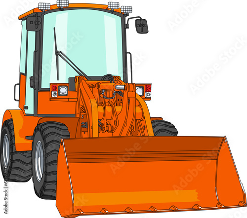 vector bulldozer