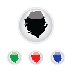 Icon Illustration with Four Color Variations