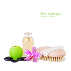Spa Concept image with Free space for your Text © anitasstudio