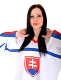Slovakian Supporter Woman